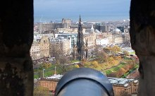Edinburgh Castle Cannon Battery, © Simon Johnston